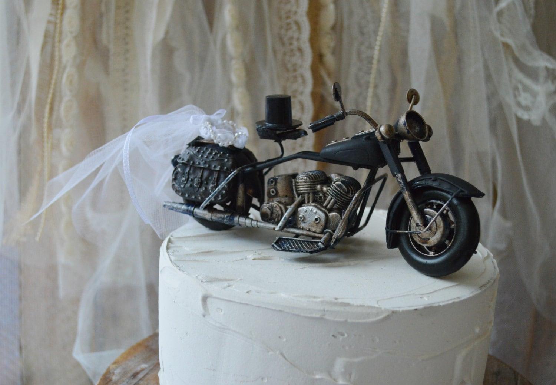 motorcycle ring holder pillow cake harley davidson wedding rings zoom