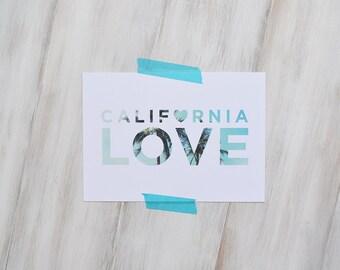 California Love // Small Print