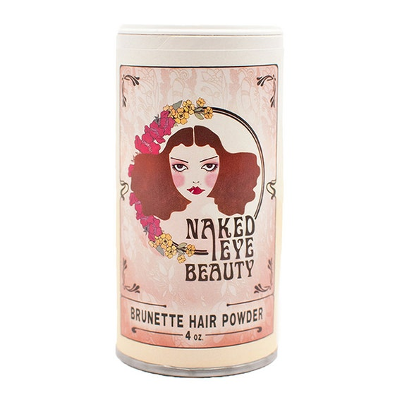 Brunette Dry Shampoo Hair Powder Vegan Organic 4 oz.