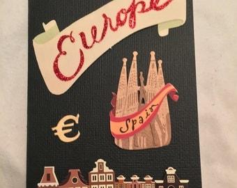 Europe Dream Passport Cover (#250)