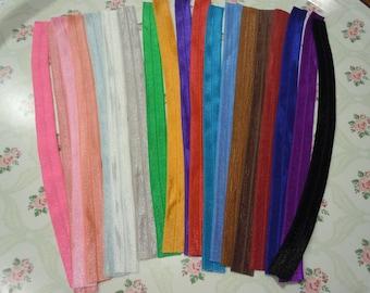 Foe Fold Over Elastic Hair Ties (DIY)