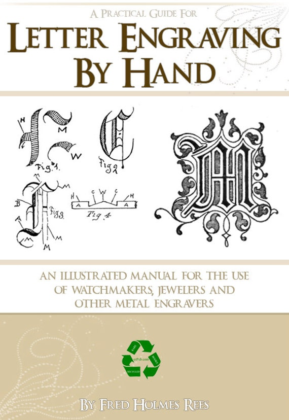 how to use hand engraver neetly