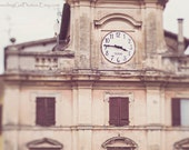 Architecture fine art photography wanderlust Italy travel photo large wall art home decor Spoleto Umbria cathedral piazza office decor brown