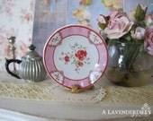 Poppy Plate for Dollhouse