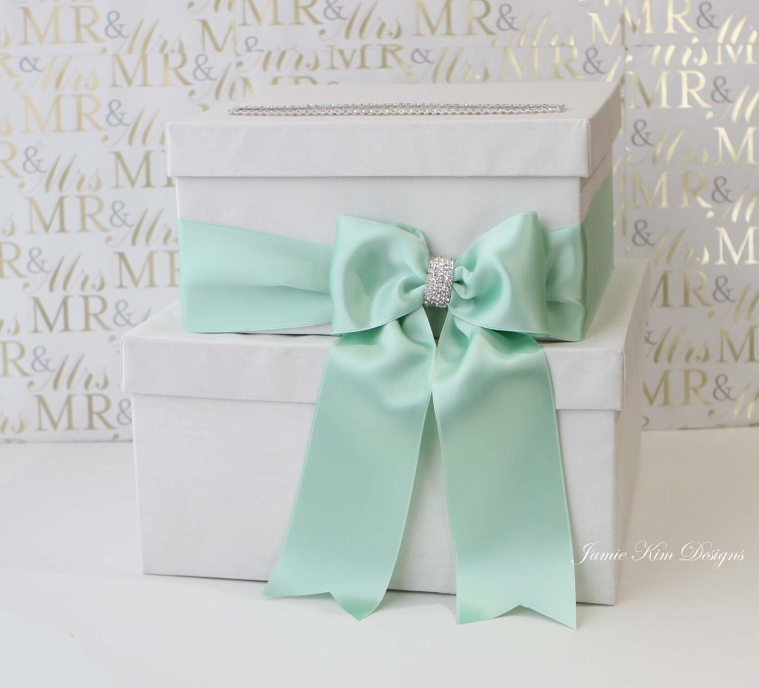 Wedding Gift Boxes For Cards : Wedding Card Box Money Box Wedding Gift Card Money Box