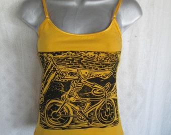 Dia de los Muertos Bicycle Delivery Boy
