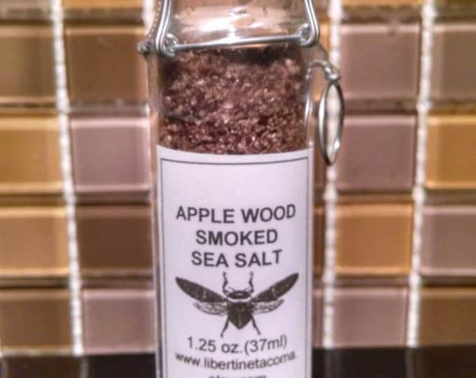 Applewood Naturally Smoked Sea Salt in a Variety of Packaging