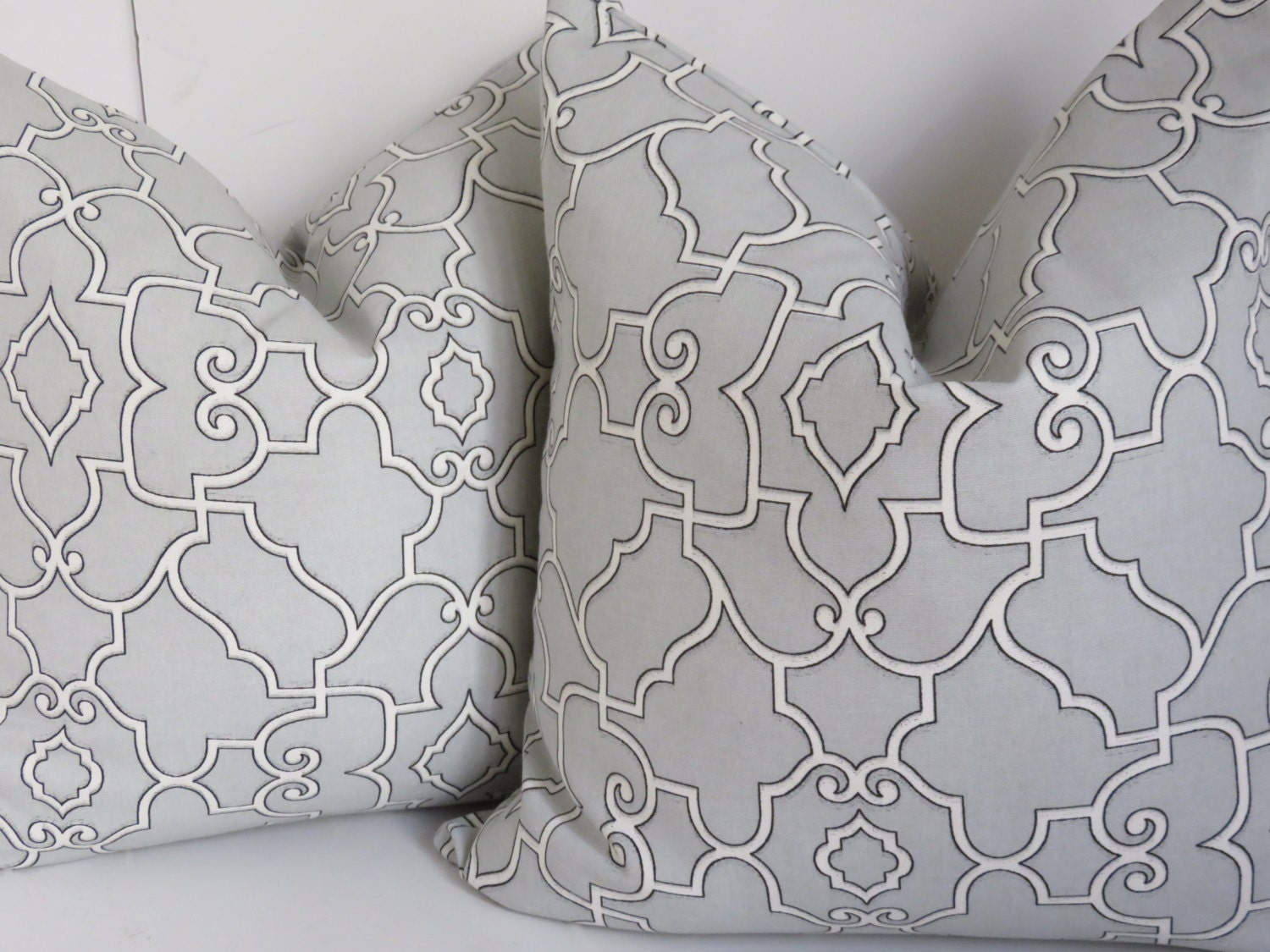Light Gray pillow cover Gray pillow Cover Decorative Pillow