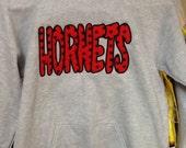 Hornet applique sweatshirt