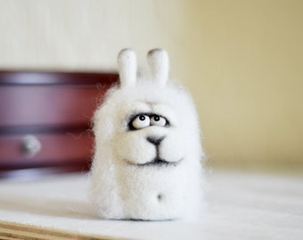 Felt doll - Handmade toys - Needle felting - Figurines - Felt toys - Christmas gift - Personalised gifts - Gifts for her - gifts for men