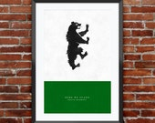 Game of Thrones - House Mormont print 11X17""