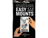 "Pack of 24, Self adhesive 4x6"" Photo Mounting Sleeves. Acid Free. Size matches Baby Steps Books"