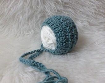 Newborn Hat, Classic Bonnet, Choose Your Color, Photo Prop