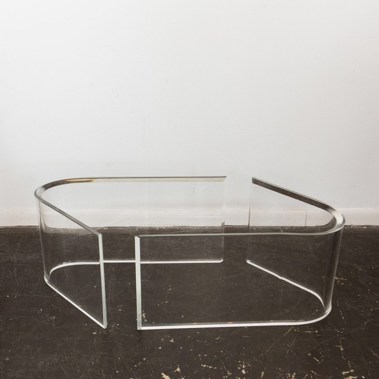 Lucite Coffee Table Bases Haute Juice