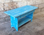 Bench - TV Stand - Coffee Table, Dining Bench, Wood Bench, Hallway Bench, Entry Bench, Mudroom Bench, Rustic Bench, 3 Foot, 36""
