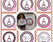 American Girl Doll of the Year Grace Clothes Matching French Designs - Girl & Doll Shirt Set - Personalized Long/Short Sleeve