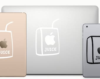 Apple Juice Decal MacBook & iPad