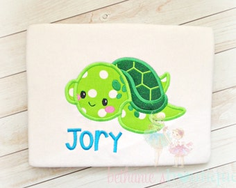 Sea turtle shirt - personalized turtle shirt - turtle birthday shirt - sealife shirt - beach shirt - summer time shirt - personalized shirt