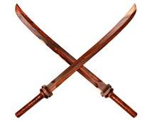 Wooden Samurai Sword