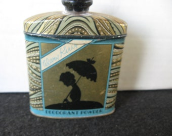 Vintage Watkins Mary King  Powder Tin