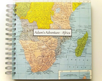 Travel Journal for Africa, South Africa, Kenya, Tanzania, Mission Trip to Africa