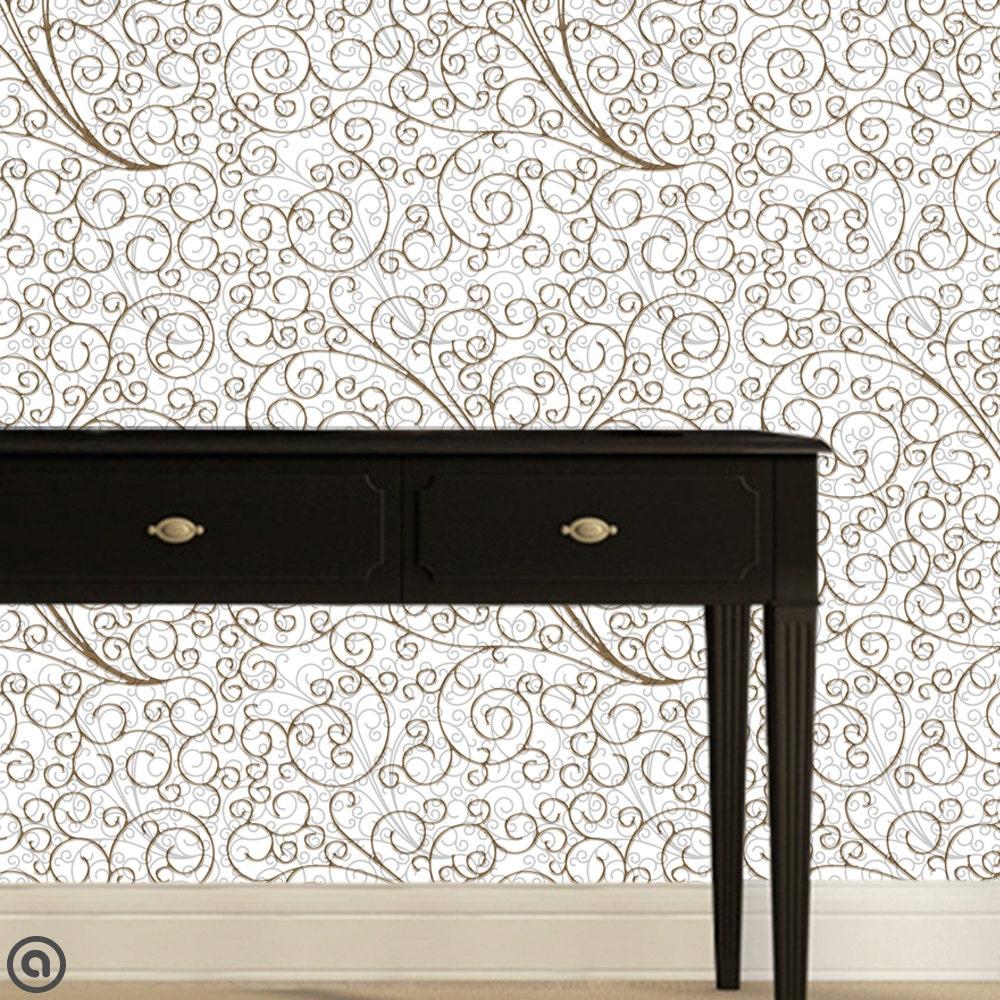 removable wallpaper arabian window peel stick self. Black Bedroom Furniture Sets. Home Design Ideas
