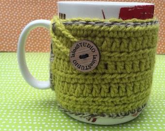 Crochet Mug Cozy for Coffee or Tea
