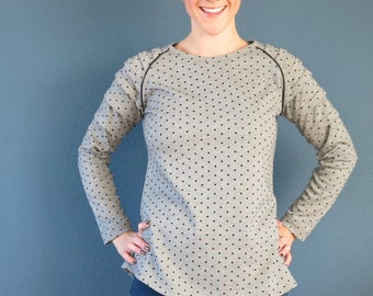 Zoe Raglan Top - Liola Patterns