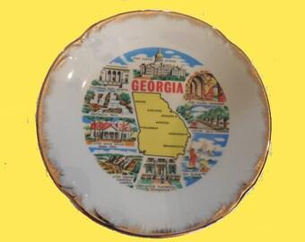 Georgia Plate,  FREE SHIPPING