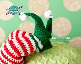 Instant Download PDF Crochet Pattern - No. 20 Baby Elf Booties
