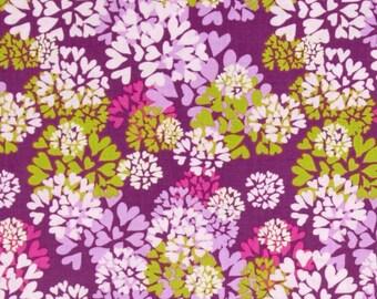 Nel Whatmore - Free Spirit Fabric - Memory Lane - Agapanthus - Purple - Choose Your Cut-1/2 or Full Yard