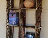 Sarah's custom wall shelf