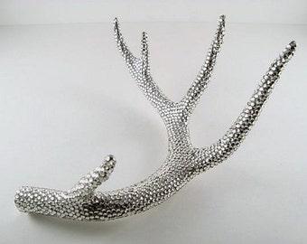 SWAROVSKI Crystal Rhinestone Deer Antler Art Sculpture