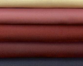 Bella Solids Fat Quarters by Moda 5 Fat Quarters 100 Percent Premium Cotton Quilting Fabric
