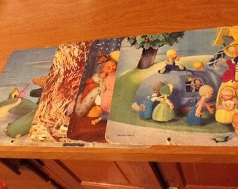 Placemats Vintage Mother Goose CLAYTOON