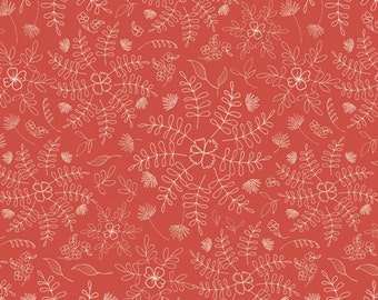 Wild and Free - Crimson Dance - Art Gallery Limited Edition - WFR-143 - 1/2 Yard, Additional Available