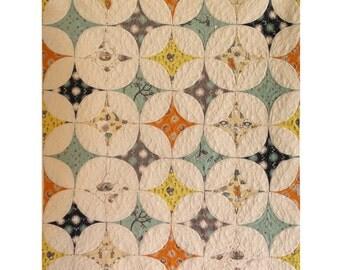 Star Gazer Quilt Pattern - Lunden Quilt Designs - Modern Quilting Pattern