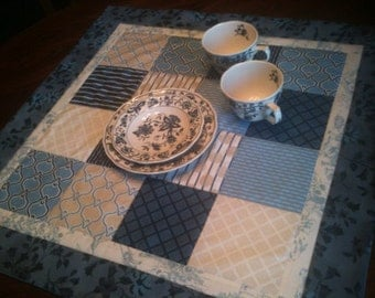 "Patchwork Table Topper 24"" sq"