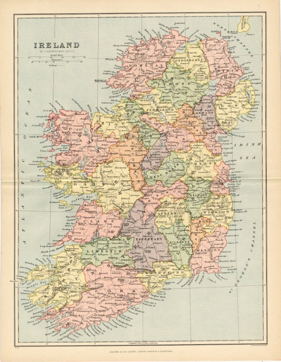 Ireland City Map Map of Ireland The Emerald