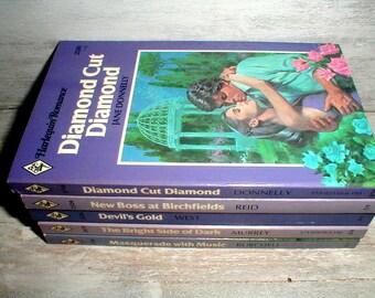 5 Harlequin Romance Books *Purple & Lavender*