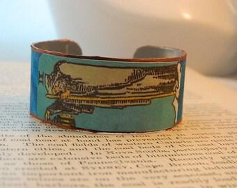 Tarot bracelet tarot jewelry The Hermit tarot mixed media jewelry