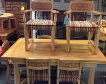 Popular Items For Table With 6 Chairs On Etsy