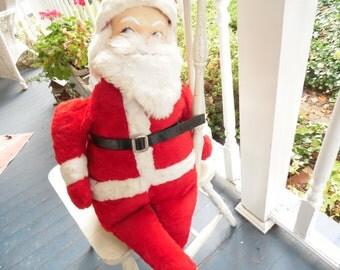 Vintage Christmas Decoration Large Santa Claus 1950s