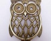 Brass Trivet, Owl Trivet, French Trivet, Owl Shaped Trivet, Brass Owl trivet, French Brass Trivet, Animal Shaped Trivet,