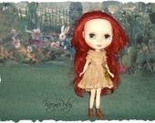Blythe ~Aged Silk Dress ~ Vintage Inspired  by KarynRuby