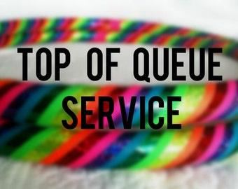 RUSH HANDLING - Top of the Queue - Add-On for DanceHoops hula hoop