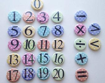 Number Magnet Set
