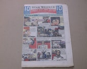 Vintage 1947 Toronto Star Weekly Comic Section