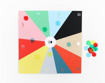Tiddlywinks Game - by Colette Bream