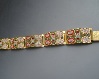 Italian Mosaic Bracelet
